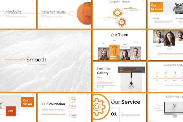 Smooth - Powerpoint Template
