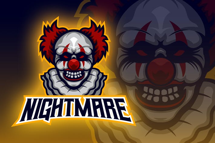 Thumbnail for Angry Clown Esport Logo