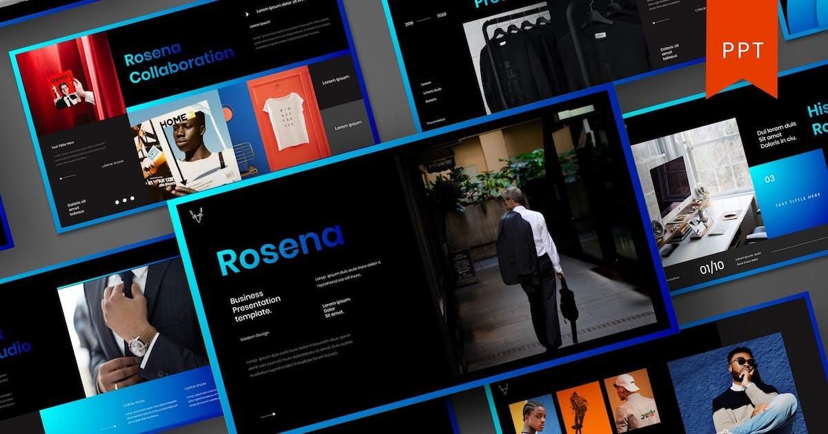Download Rosena – Business PowerPoint Template by DensCreativeStudio