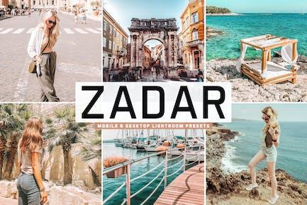 Zadar Mobile & Desktop Lightroom Presets