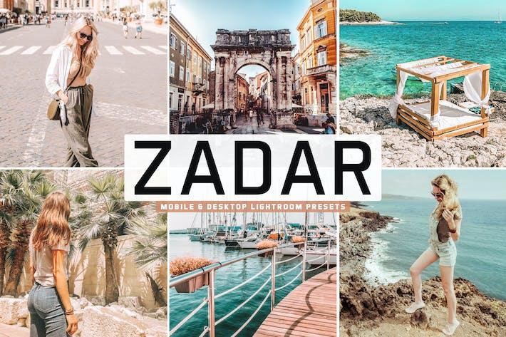 Thumbnail for Пресеты Lightroom Zadar для мобильных и настольных компьютеров