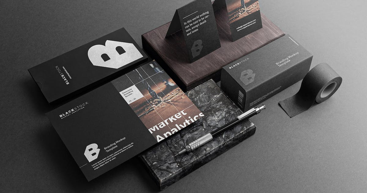 Download Blackstone Branding Mockup Vol. 2 by Genetic96