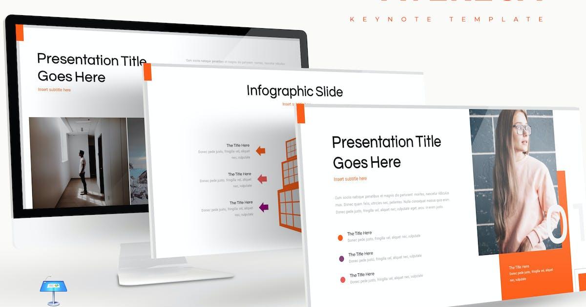 Download Avereca - Keynote Template by aqrstudio