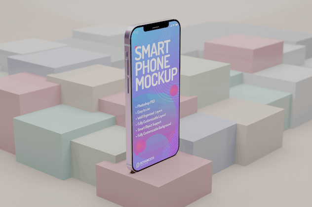 Iphone 12 Innovative – Mockup Template