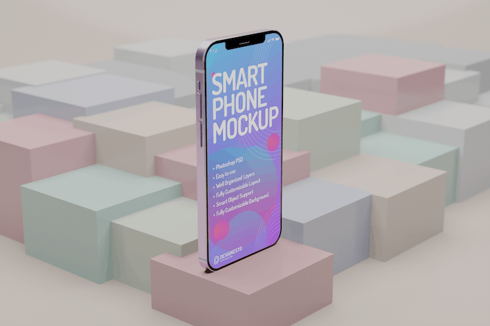 Thumbnail for Iphone 12 Innovative – Mockup Template