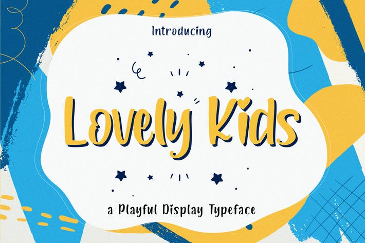 Thumbnail for Lovely Kids - Playful Font