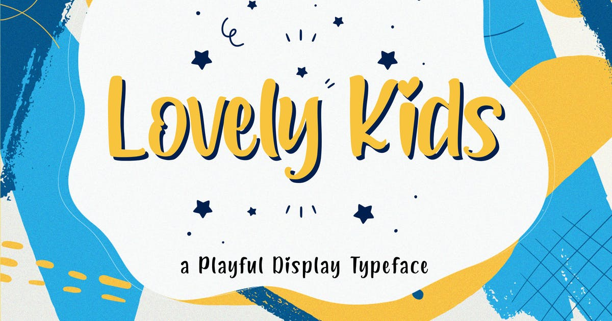 Download Lovely Kids - Playful Font by StringLabs