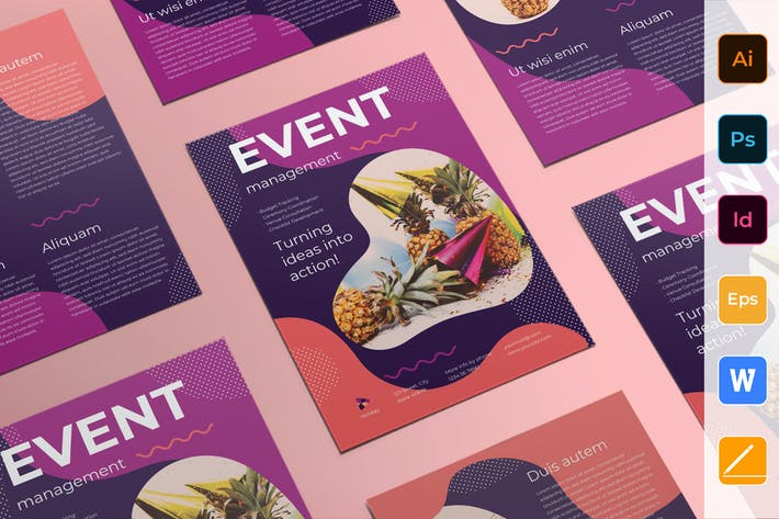 Cover Image For Event Management Flyer