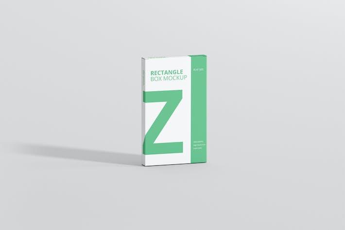Thumbnail for Box Mockup - Medium Size Flat Rectangle