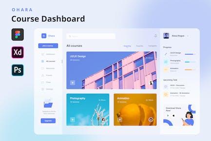 OHARA - Online Course Dashboard