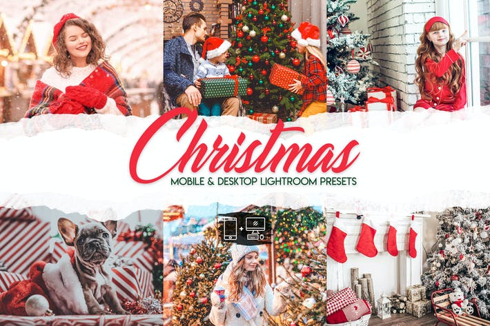 Thumbnail for Christmas - 15 Premium Lightroom Presets