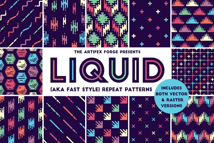 Cover Image For Liquid Repeat Patterns
