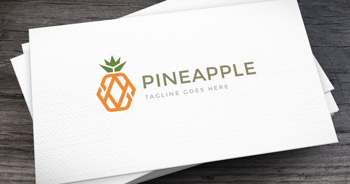 Pineapple Logo Template by empativo