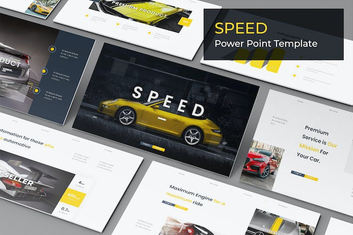 Thumbnail for Speed - Powerpoint Template