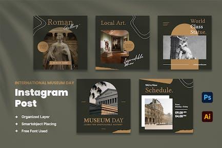 Museum Day Instagram Post