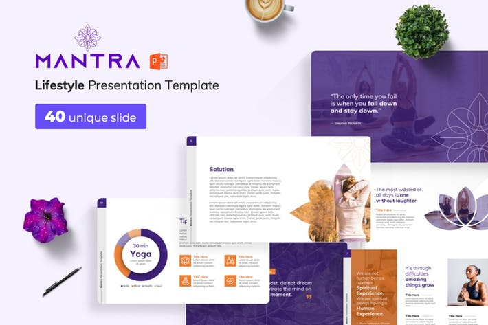 Thumbnail for Mantra PowerPoint Presentation Template