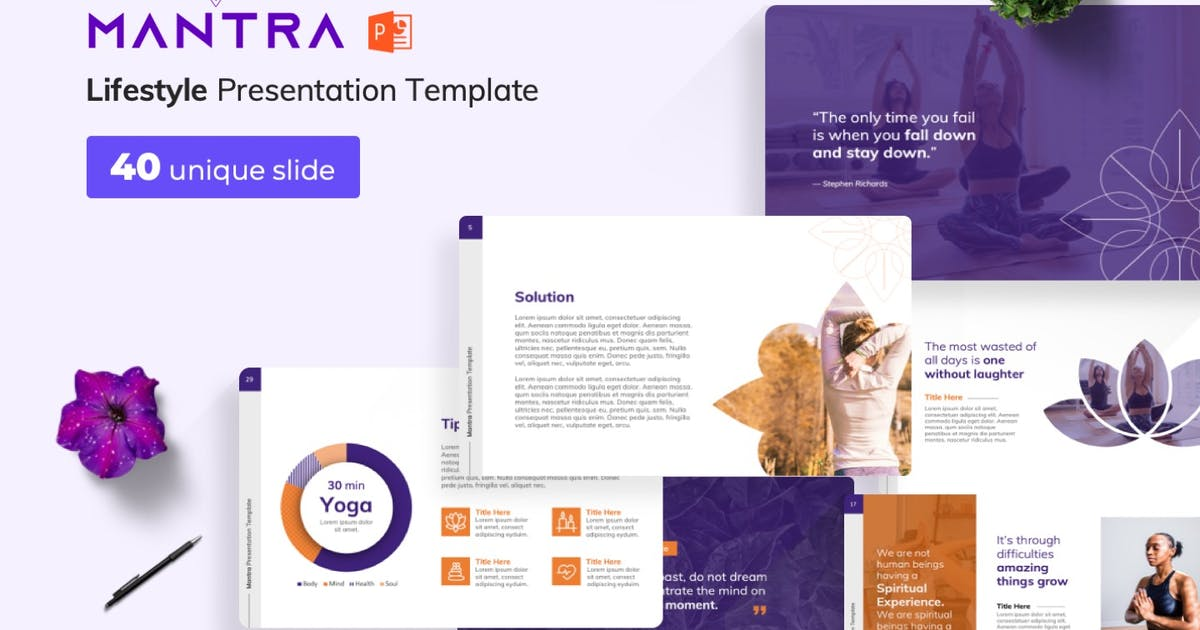 Download Mantra PowerPoint Presentation Template by Premast