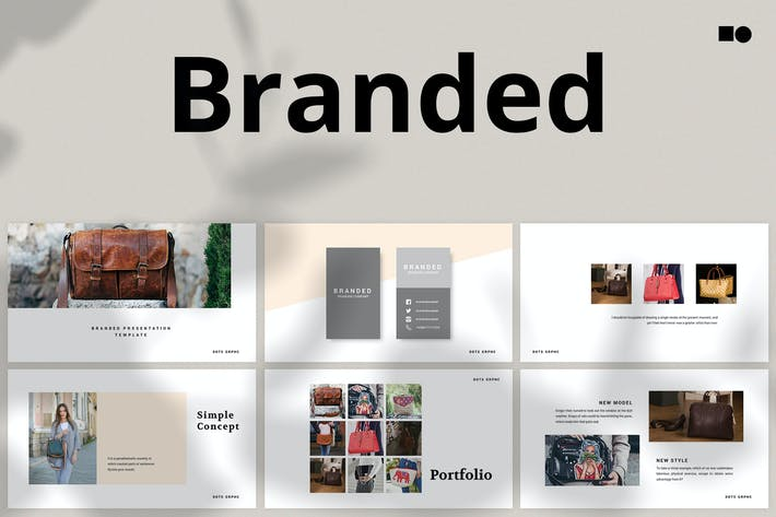Thumbnail for Фирменный - Powerpoint