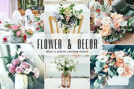 Flower & Décor Mobile & Desktop Lightroom Presets
