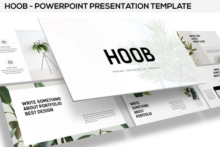 Thumbnail for Hoob - Powerpoint Template