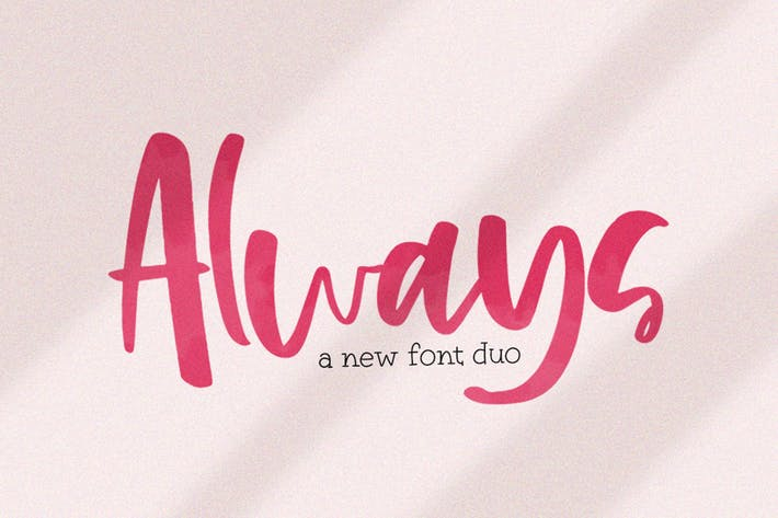 Thumbnail for Always Font Duo