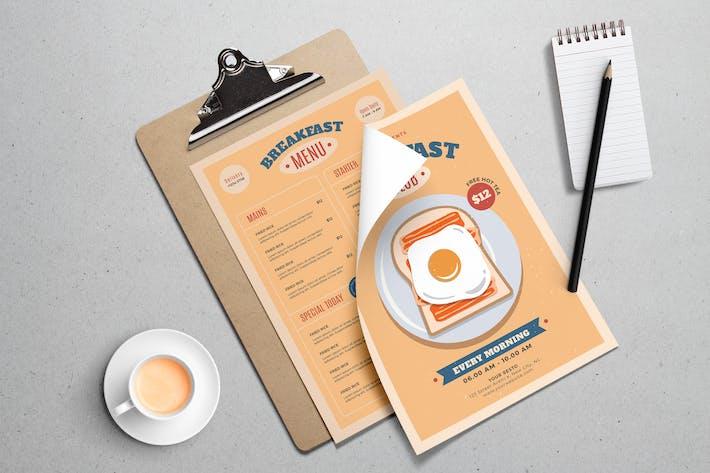 Breakfast Club Flyer Template