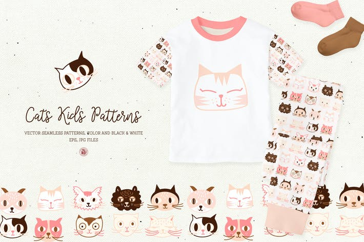 Thumbnail for Cats Kids Patterns