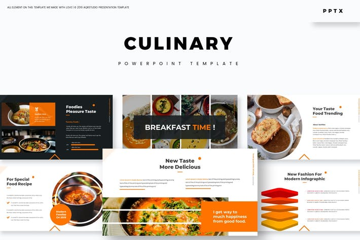 Cover Image For Culinary - Powerpoint Template