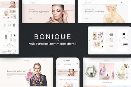 Bonique - Beauty & Cosmetic Prestashop Theme