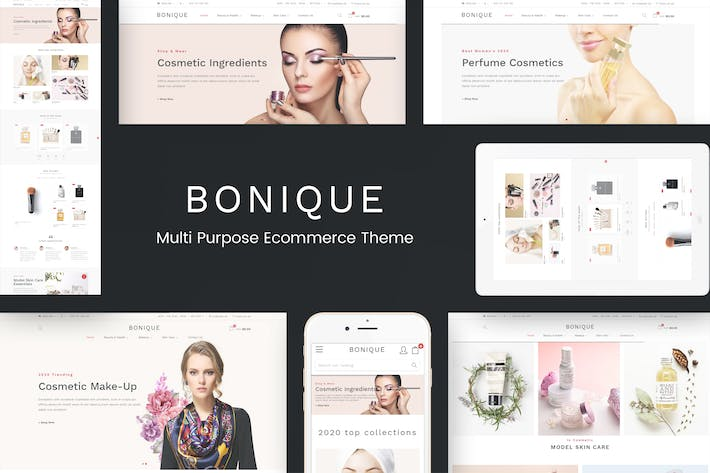 Thumbnail for Bonique - Beauty & Cosmetic Prestashop Theme