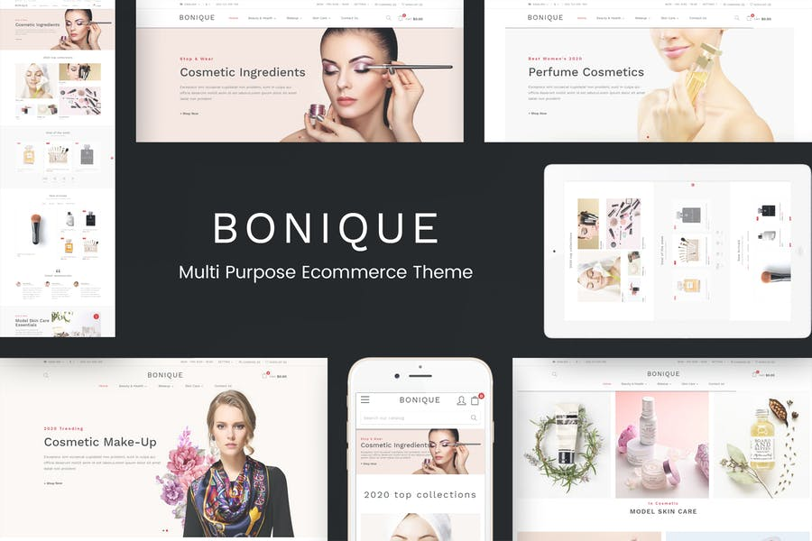 Bonique - Beauty & Cosmetic Prestashop Theme