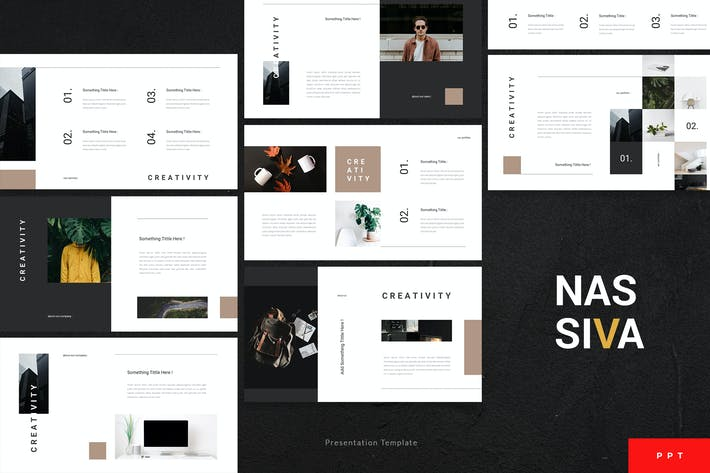 Cover Image For Nassiva - Creative Powerpoint Template