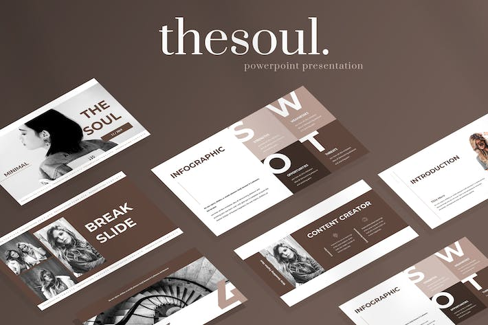 Thumbnail for The Soul - Fashion Powerpoint Presentation