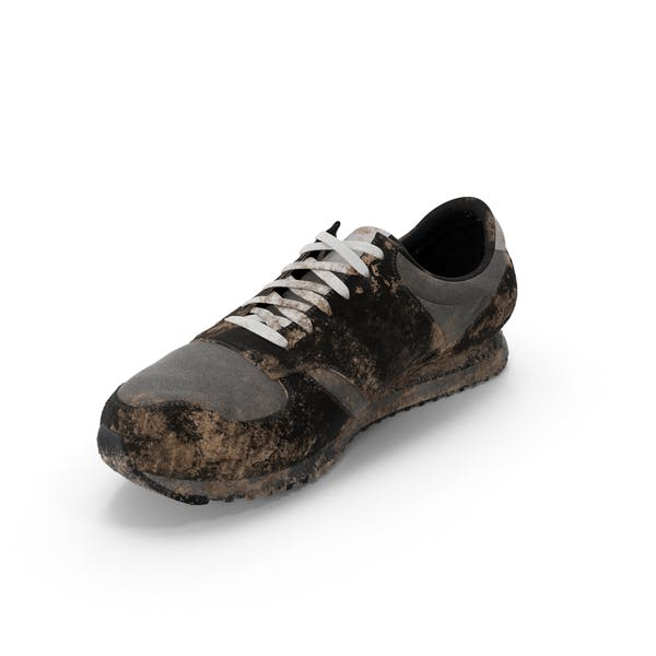 Cover Image for Muddy Running Shoe
