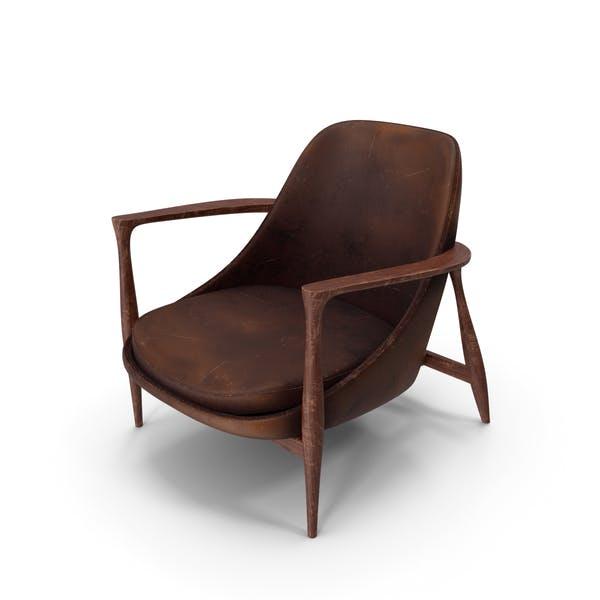 Elisabeth Chair Brown Damaged