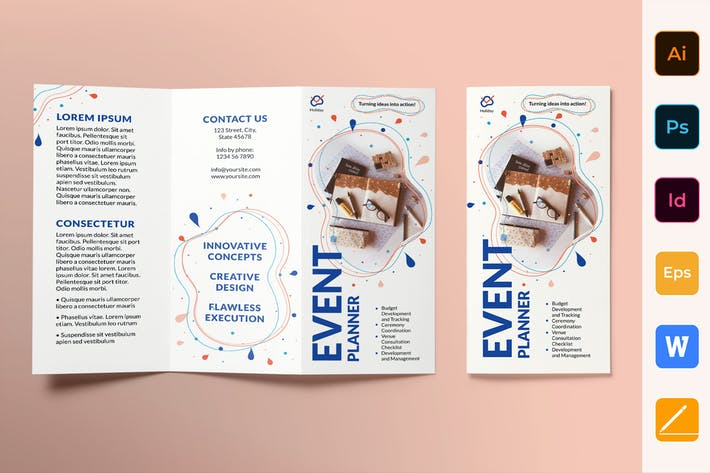 Thumbnail for Event Planner Brochure Trifold