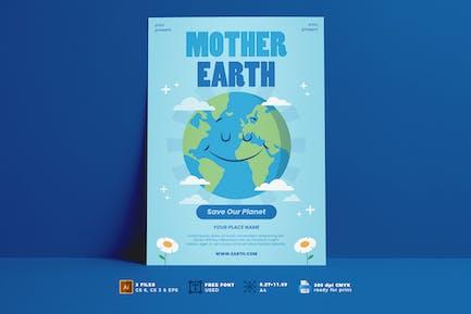 Earth Day Flyer Vol. 04