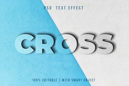 Cross -  PSD Text Editable