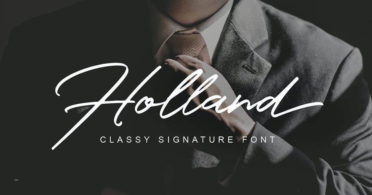 Download Holland Classy Font by shirongampus