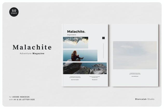 MALACHITE Adventure Magazine