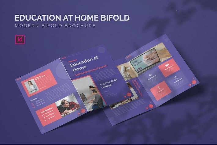 Thumbnail for L' éducation à la maison - Brochure bifold