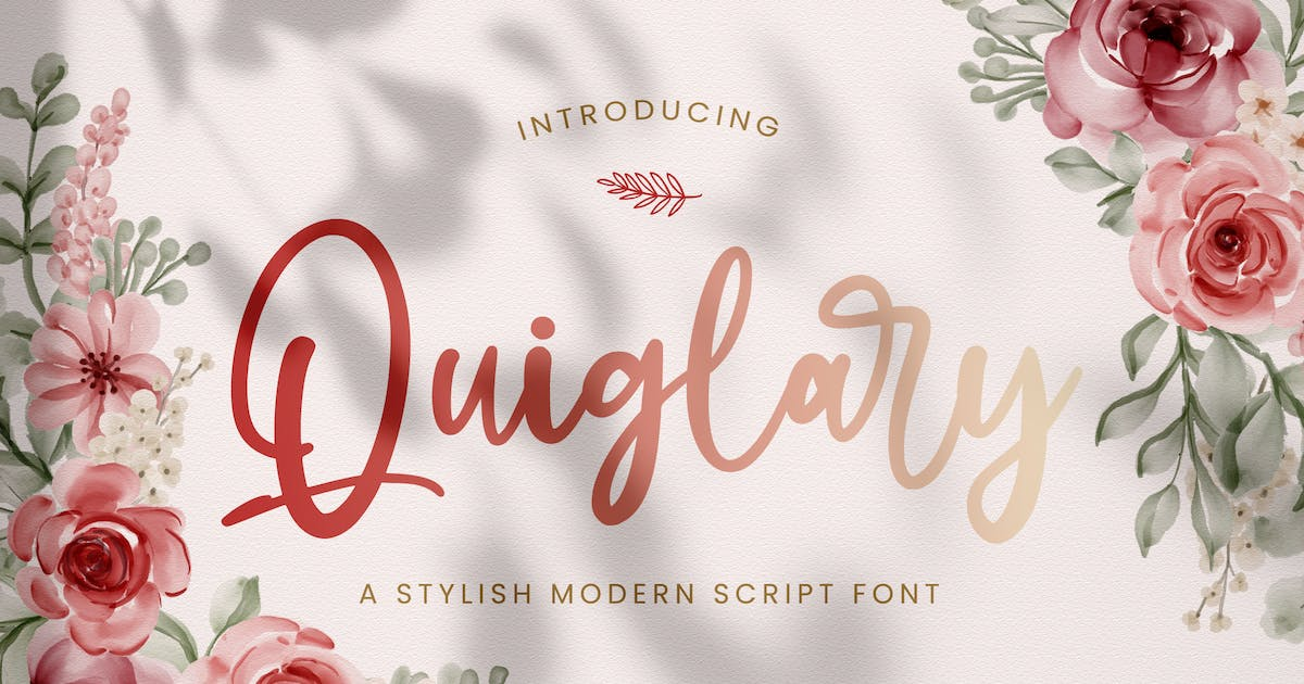 Download Quiglary - Handwritten Font by StringLabs