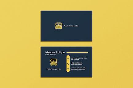 Business Card Transport
