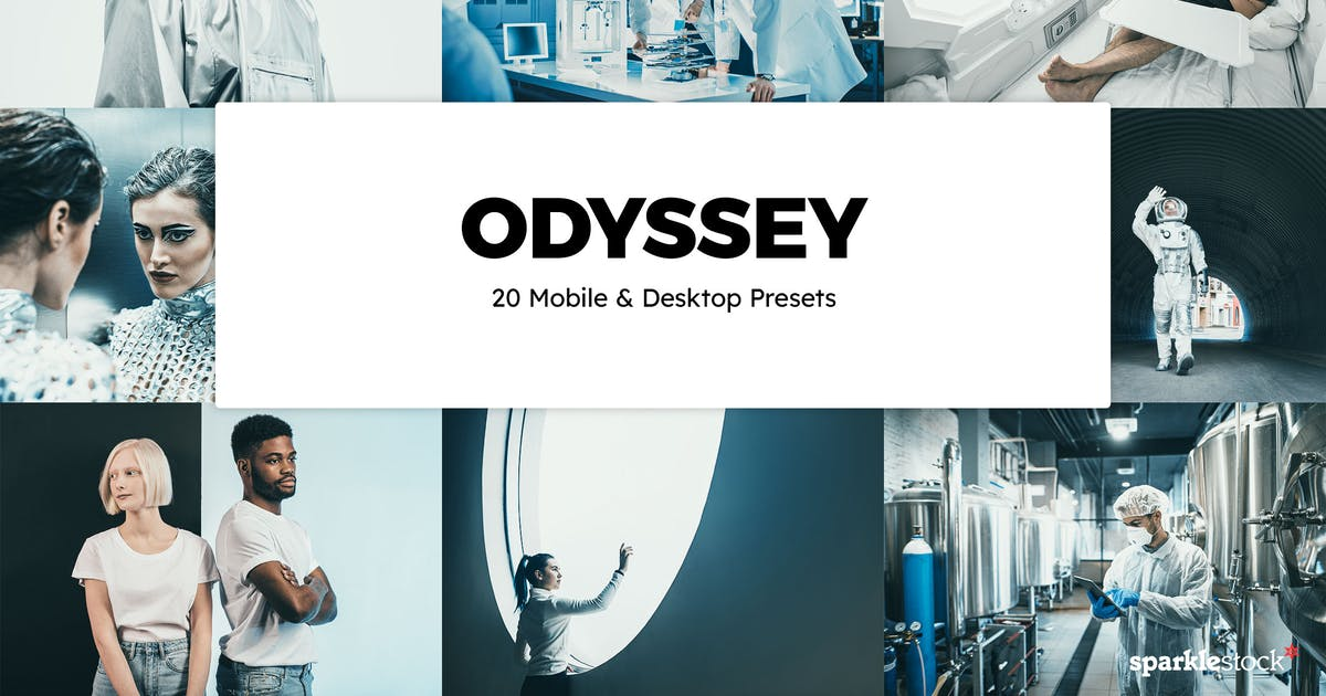 Download 20 Odyssey Lightroom Presets & LUTs by sparklestock