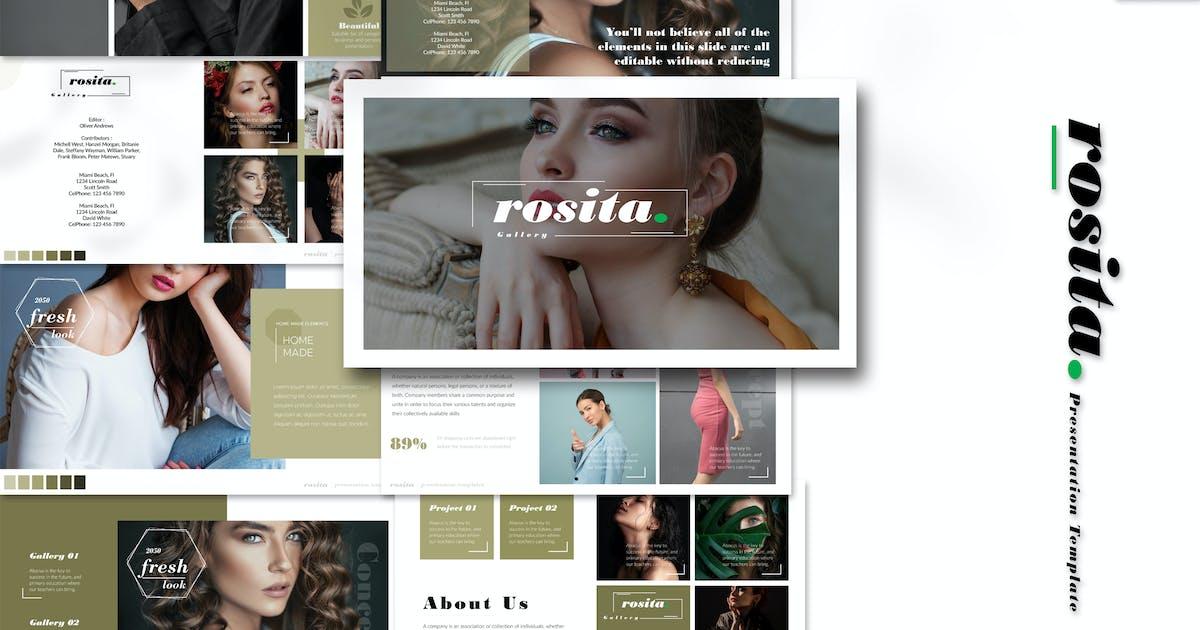 Download Rosita - Keynote Template by Artmonk