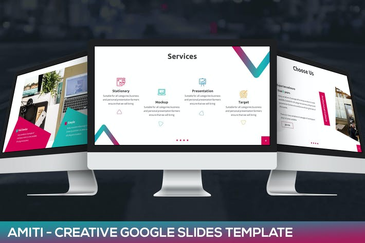 Thumbnail for Amiti - Creative Google Slides Template