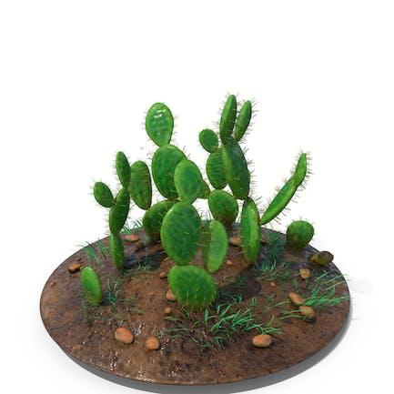 Kaktus-Winkel-Flügel