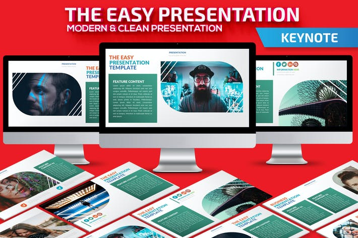 Thumbnail for The Easy Keynote Presentation Template
