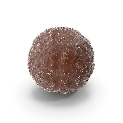 Chocolate Ball with Sugar