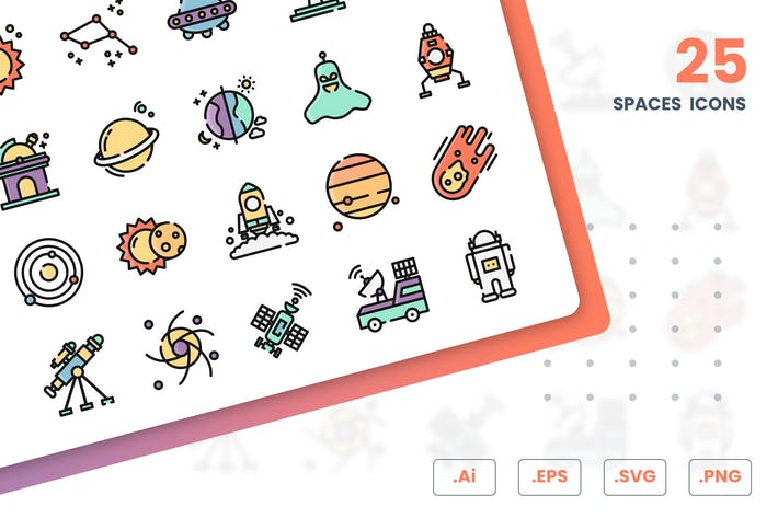 Raum Icons Set